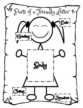 FRIENDLY LETTER - Poster, Chart, Activities & Assessment