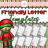 (((15 PAGES))) Christmas Friendly Letter Templates