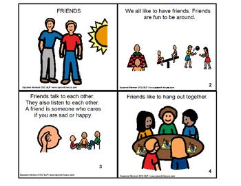FRIENDS Social Story