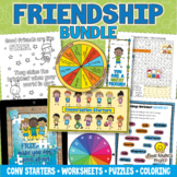 FRIENDSHIP ACTIVITIES BUNDLE Friendship Skills for Healthy