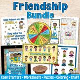 FRIENDSHIP ACTIVITIES BUNDLE Friendship Skills for Healthy Relationships