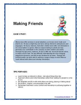 FRIENDSHIP & SOCIAL SKILLS - Case Studies & Tips