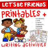 FRIENDSHIP UNIT- Kindergarten/1st/2nd- (TEKS & CCSS Aligned)