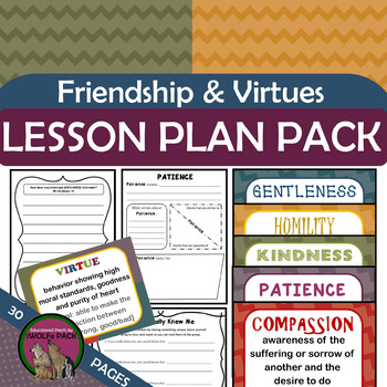 FRIENDSHIP & VIRTUES How To Be A Good Friend Using Biblical Virtues Character Ed