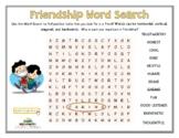 FRIENDSHIP WORD SEARCH (PDF + Google Slides)