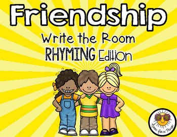 FRIENDSHIP WRITE THE ROOM – RHYMING WORDS EDITION