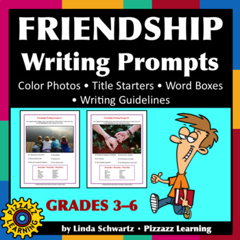 FRIENDSHIP WRITING PROMPTS