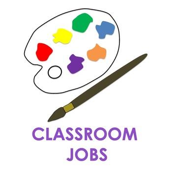 ART CLASSROOM JOBS