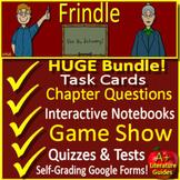 Frindle Google Novel Study Unit Print AND Paperless Google Ready + Self-grading