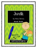 Andrew Clements FRINDLE - Novel Study