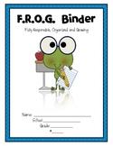 FROG Binder Kit