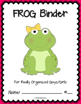 FROG Binder {Student Organization Folder}