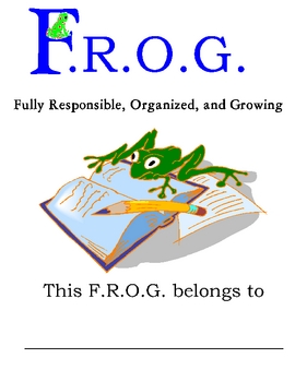 FROG - Fully Responsible Organized and Growing Binder Cover