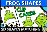 FROG SHAPES CENTER (SPRING KINDERGARTEN GEOMETRY ACTIVITIES)