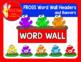 FROG THEME WORD WALL HEADERS