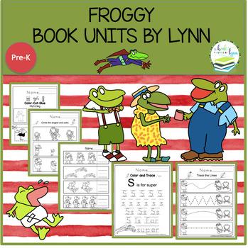 FROGGY  BOOK UNITS BY LYNN