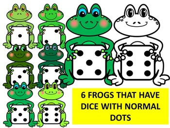 FROGGY WITH DICE- FROGS WITH DICE CLIP ART- FROGS CLIP ART (36 IMAGES)