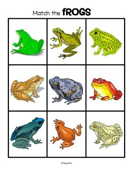 FROGS Math and Literacy Activities and Centers for Preschool and Pre-K