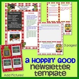 FROGS - Newsletter Template WORD