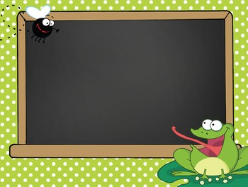 FROGS - PowerPoint, Open House, Curriculum Night, Meet the Teacher