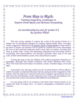 FROM MAP TO MYTH: CREATING IMAGINARY LANDSCAPES