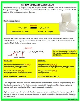 FROM MOLECULES TO ORGANISMS: NGSS MS-LS1, Activity packet