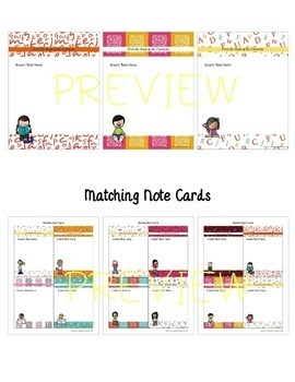 FROM THE DESK OF THE LIBRARIAN: Stationery with Matching Note Cards