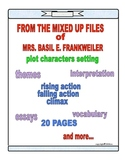FROM THE MIXED UP FILES OF MRS. BASIL E. FRANKWEILER NOVEL STUDY