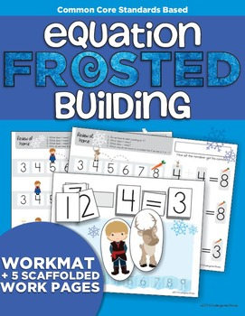 FROSTED Equation Building | Number Line | Addition Subtraction | Kindergarten