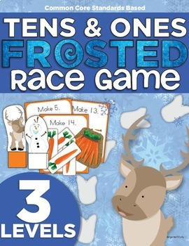 FROSTED Race Game   Kindergarten   Compose Numbers to 19 C