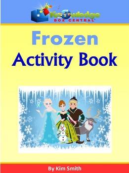 FROZEN Activity Book