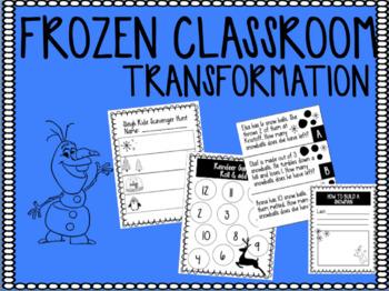 FROZEN CLASSROOM TRANSFORMATION!