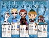 FROZEN (Elsa, Anna, Olaf, Kristoff, Sven) BUNDLE - Draw wi