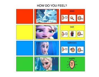 FROZEN Feelings Scale