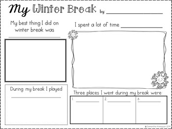 Frozen Fun!  {Snow and Winter Themed Literacy Activities}