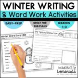Frozen Fun!  {Winter Themed Literacy Activities}