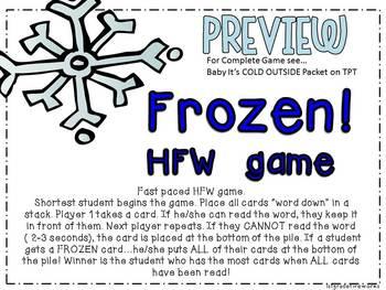 FROZEN! HFW Game PREVIEW