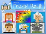 FROZEN Inspired 120 Chart Bundle Watch, Think, Color Games