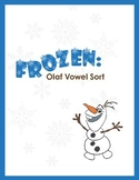 FROZEN: Olaf vowel word sort