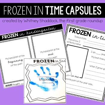 FROZEN in Time {Capsule}