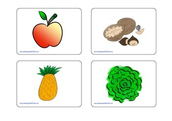 Fruit and Veggies Playing Cards