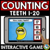 FRUIT BOOM CARDS MATH ACTIVITY KINDERGARTEN COUNT OBJECTS TO 20 ASSESSMENT GAME
