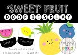 FRUIT CLASSROOM DOOR DISPLAY