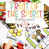 FRUIT OF THE SPIRIT BIBLE LESSONS UNIT