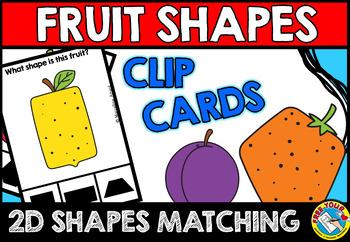 FRUIT SHAPES CENTER (KINDERGARTEN GEOMETRY ACTIVITIES)