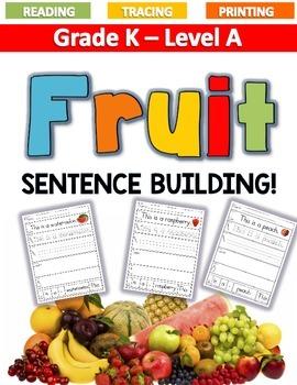FRUIT Sentence Building LEVEL A