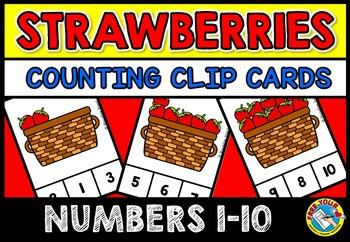 FRUIT THEME ACTIVITIES: KINDERGARTEN PRINTABLES: STRAWBERR
