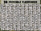 FRUITS - 36 Printable front/back FLASHCARDS