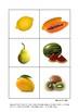 FREE PRINTABLE : FRUITS FLASHCARDS