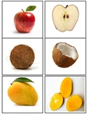 FRUITS INSIDE OUT  FLASHCARDS